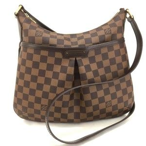 💯 Auth Louis Vuitton Damier Bloomsbury PM